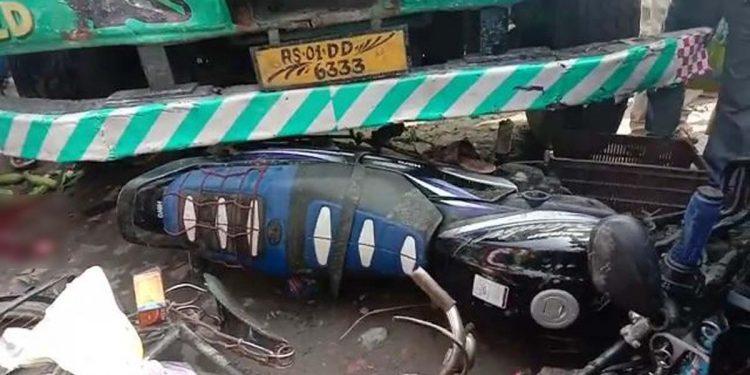 Road mishap in Darrang