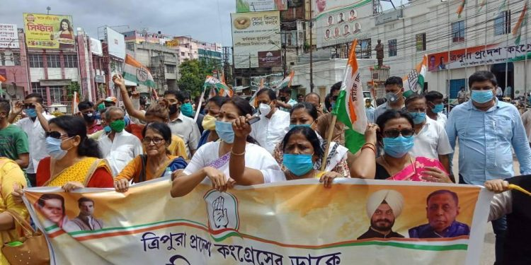 Over 800 Congress workers detained in Tripura during 12-hour bandh 1