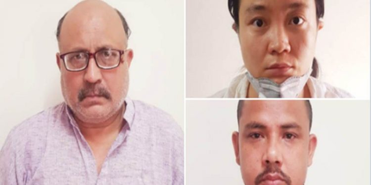 Chinese spy racket: Arrested journo, Chinese woman sent to 7-day police custody 1