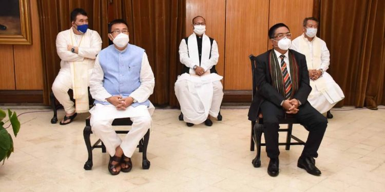 New Manipur ministers