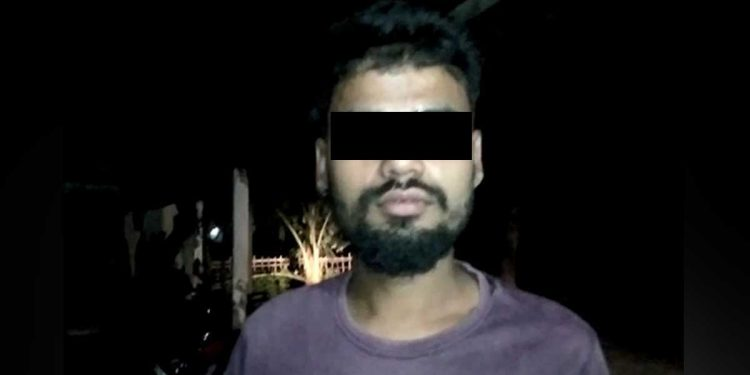 Gobin Sarma, accused of raping two minors in Assam