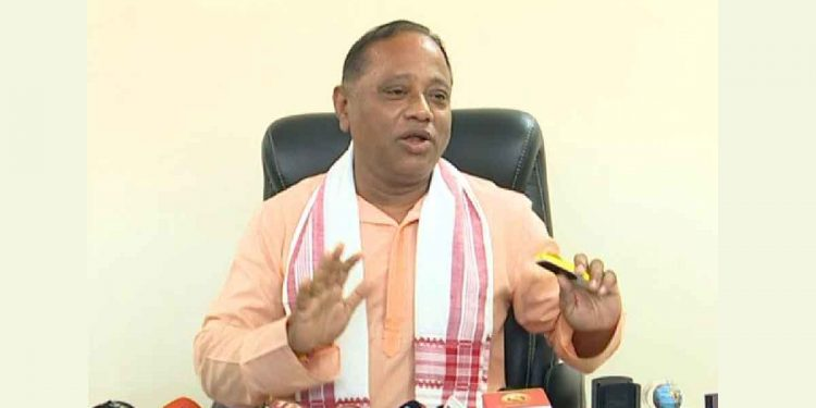 Assam forest minister Parimal Suklabaidya