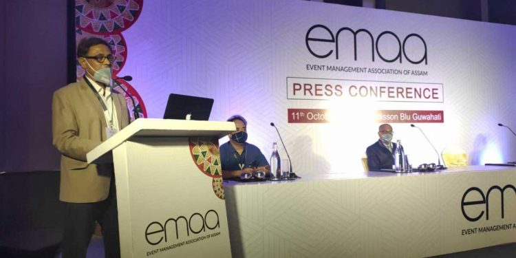 During the launch of EMAA