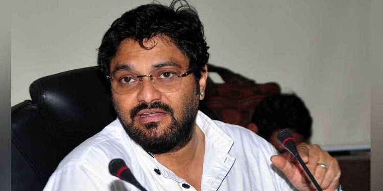 Minister of state for environment, forest and climate change Babul Supriyo