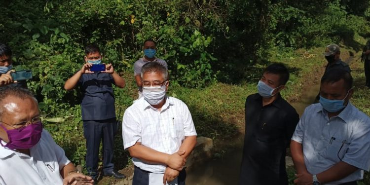 Manipur forest minister Awangbow Newmai