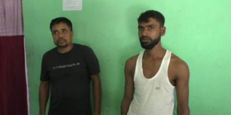 Two members of a fake currency gang in police custody