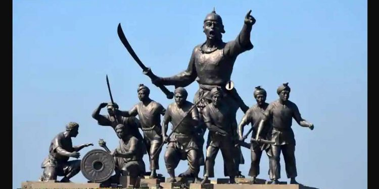The statue of Lachit Barphukan- the Ahom general who orchestrated the defeat of Mughals in the Battle of Saraighat (Image for representational purpose only)
