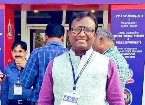 Deceased joint secretary of Tripura finance department Sudhakar Shinde. Image: Northeast Now