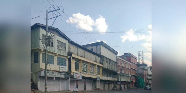Street in Kohima city