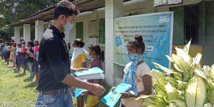 DIET, UNICEF create self learning books for Assam school children deprived of digital platforms 1