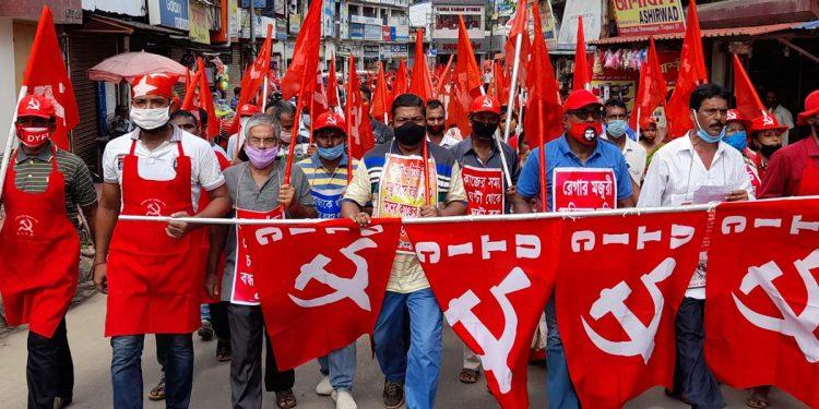 CPIM-M protest