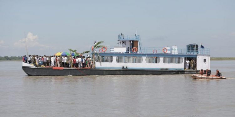Guwahati ferry services to resume from Monday 1