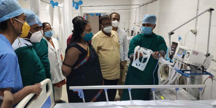 ICU in North Lakhimpur Civil Hospital