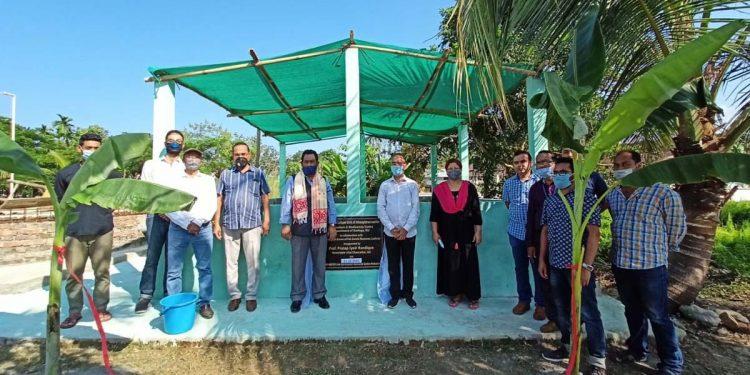 Inauguration of Kuchia breeding & culture unit at GU