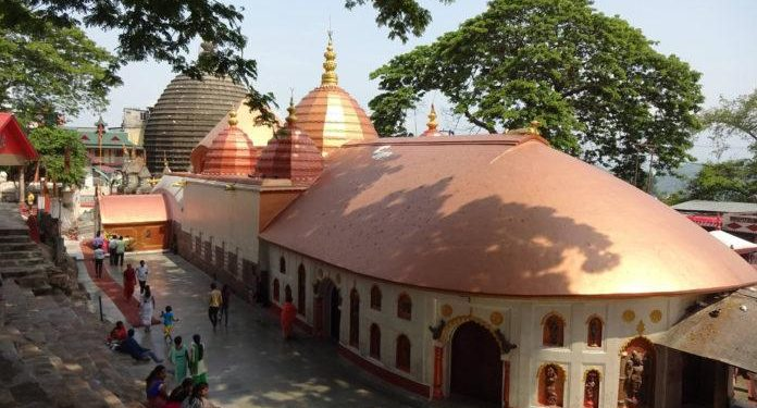 Kamakhya temple.