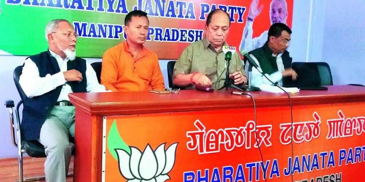 Seven BJP workers injured in pre-poll violence in Manipur 1