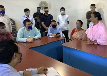 Manipur minister Okram Henry appeals to Municipal workers to call off agitation 1