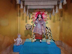 Assam: Rains dampen Durga Puja celebrations in Dibrugarh, Hojai 1