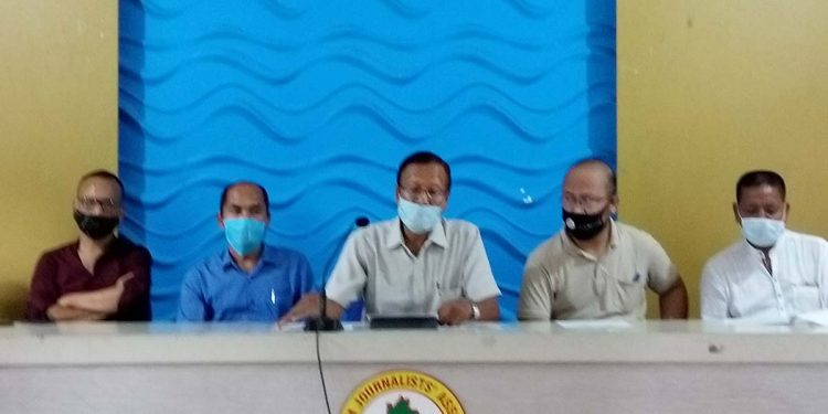 Mizoram Peoples Conference leaders.