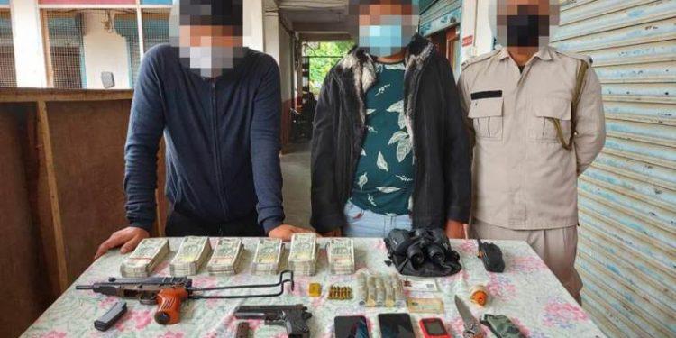 Arrested NSCN (IM) cadres. (File image).