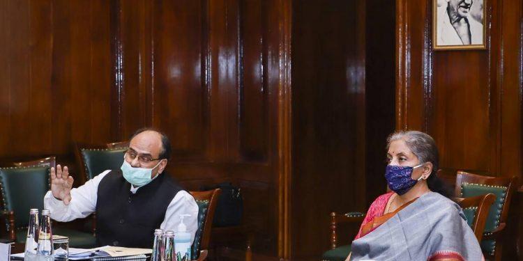 Union finance minister Nirmala Sitaraman (file phto)