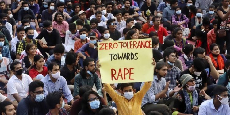 Bangladesh: Protest march against rape from Dhaka to Noakhali on Oct 16 1