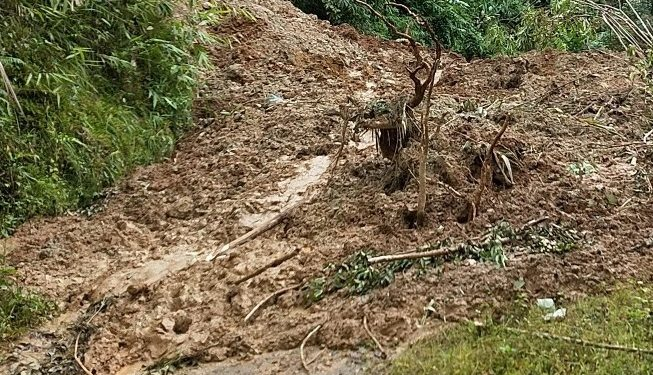 The road is blocked at 20 points and the people of the villagers are bracing tough times.