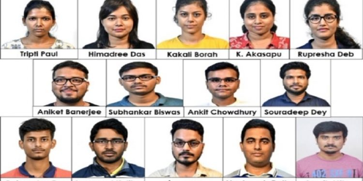The PhD students selected for the PMRF fellowship this year are pursuing research in interdisciplinary and forefront areas at various departments of the institute.