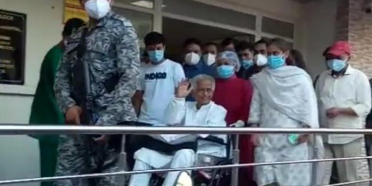 Former CM Tarun Gogoi was admitted to the GMCH on August 26 after he tested  positive for COVID-19.
