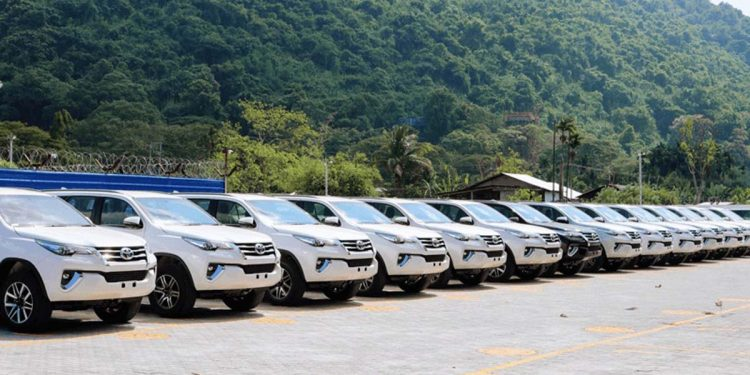 Toyota launches its first regional stockyard in Guwahati 1