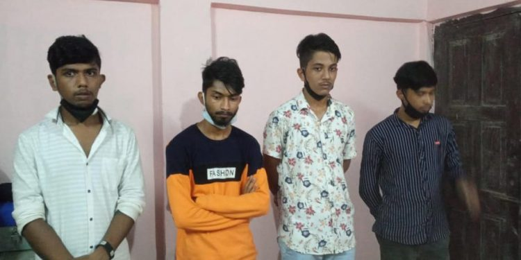 youth held with drugs