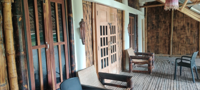 Assam Type House: The Cooling Reeds 1