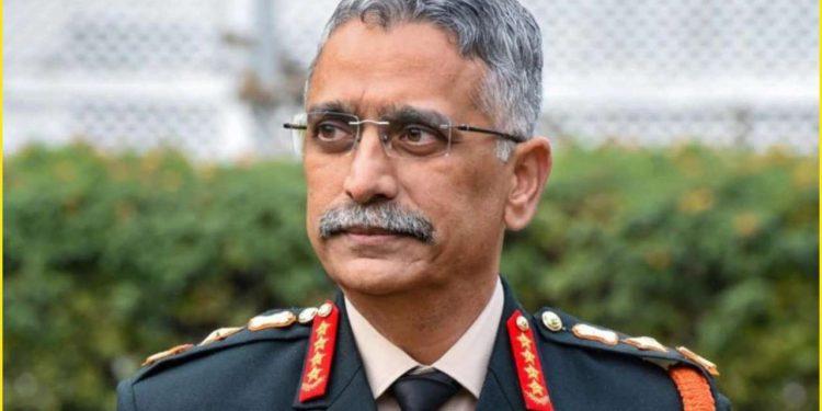 Chief of Army Staff Gen Manoj Mukund Naravane