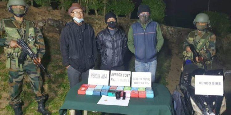 Assam Rifles recovers arms & heroin in Mizoram 1