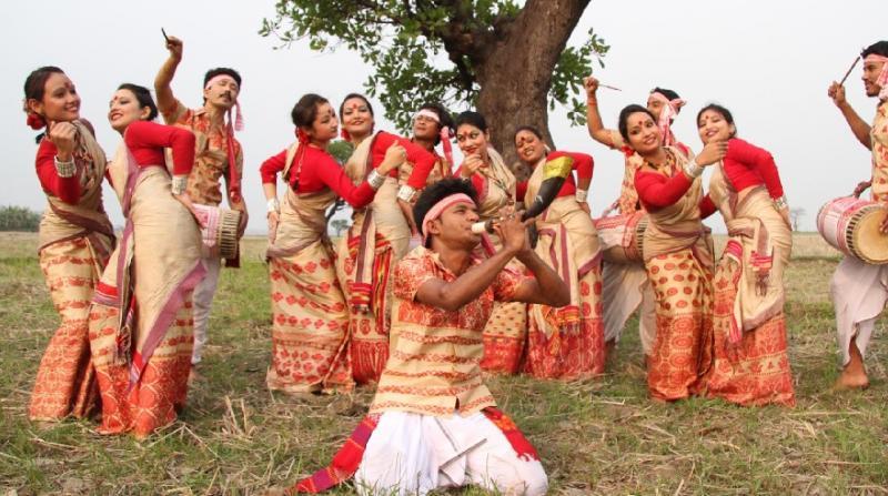 Bihu of Assam.