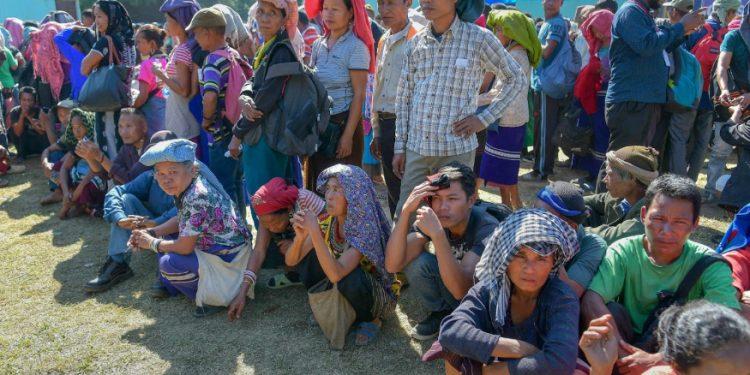 Bru refugess (File image)