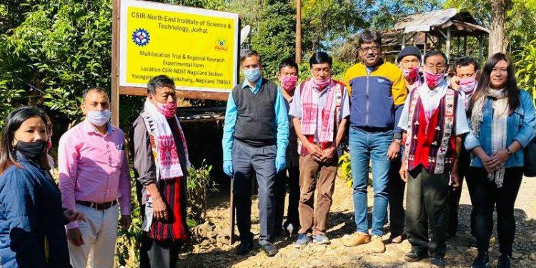 Jorhat based NEIST kickstarts second phase of CSIR Aroma Mission in Nagaland 1