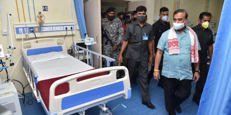 Kalapahar Covid care hospital