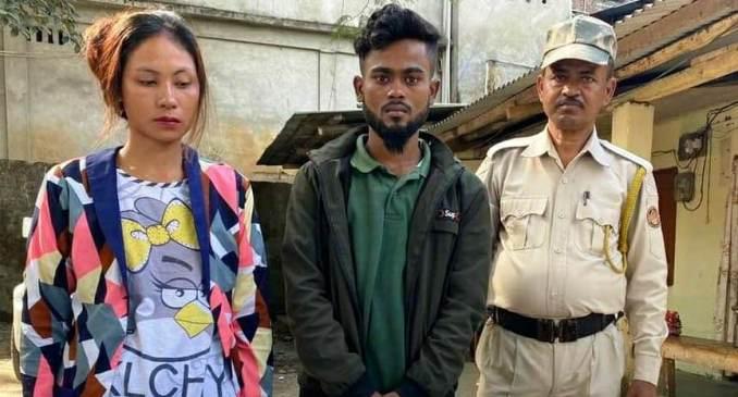 A team of Lakhimpur police arrested one Saiful Islam and Rita Bora.