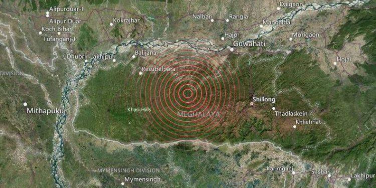 4.4 magnitude earthquake hits Assam, Meghalaya & Manipur 1