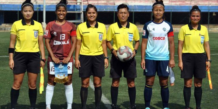 Indian women referees