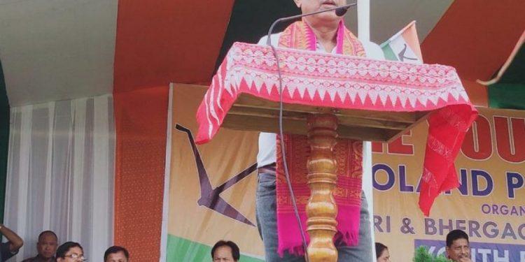 BPF chief, Hagrama Mohilary