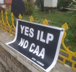 Protest in Meghalaya over delay in implementation of Inner Line Permit 2