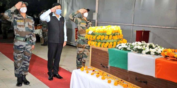 Indian Army havildar Haradhan Roy