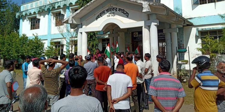 JMC leaders in Tripura