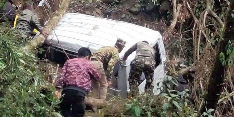 Landslide in Sikkim