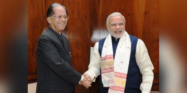 Modi condoles demise of Tarun Gogoi