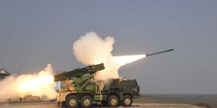 Pinaka rocket system
