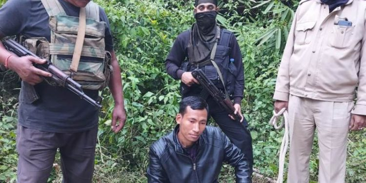 Karbi Anglong police nabbed the self-styled general secretary of the outfit, Nongme Tungjang alias Sanjib Phangcho from a hideout.