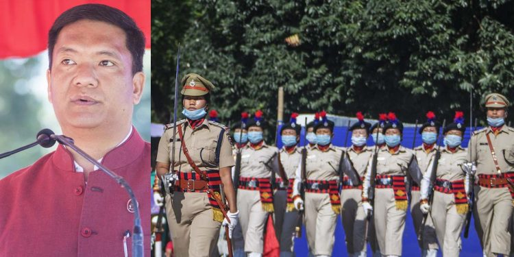 Pema Khandu and Arunachal Pradesh police